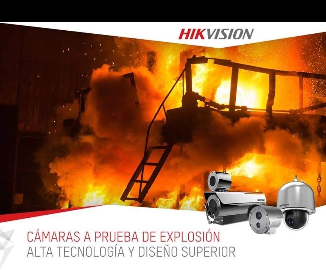 cámara a Pruebas de explosion